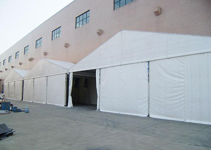 选择工业篷房的企业越来越多
